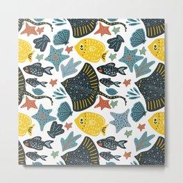 Sea Pattern #3 Metal Print