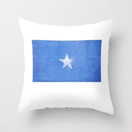 Somalia Flag design | Somali design Throw Pillow