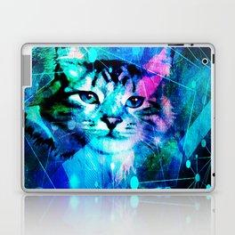Kitty Cat Laser Lights at the Aleurorave Laptop & iPad Skin