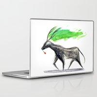 hannibal Laptop & iPad Skins featuring Hannibal  by gunberk