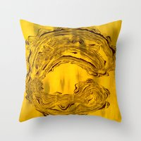 hook Throw Pillows featuring Hook  by Anne Powers
