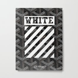 Goyard Off White iphone skin case wallet cover style case new 2018 Metal Print