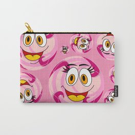SoccerComics Pink Carry-All Pouch