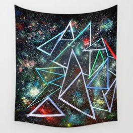 My Father's Star Charts Wall Tapestry