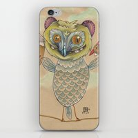 GINGERBREAD BIRD iPhone & iPod Skin