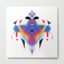 KUMADORI 02 Metal Print