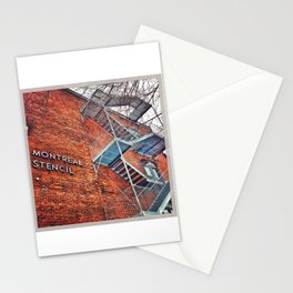 Montreal Stencil Stationery Cards