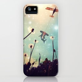 Flying Lessons iPhone Case
