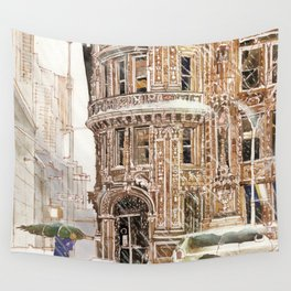 Winter in NYC Wall Tapestry