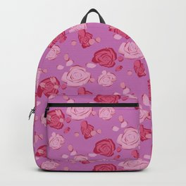 Roses pattern 3c Backpack