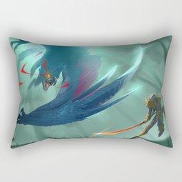 Nargacuga Hunt [Monster Hunter] Rectangular Pillow