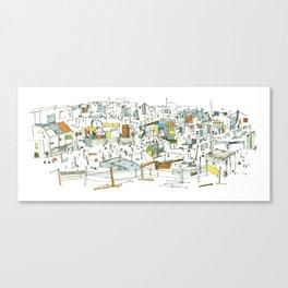 the allotments Canvas Print