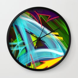 """D"" is for Dante Wall Clock"