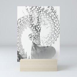 Mystical Grey Roe Deer Mini Art Print