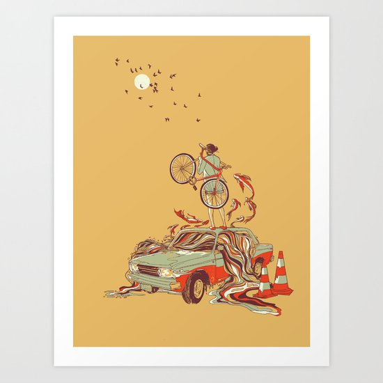 Whole New way Art Print
