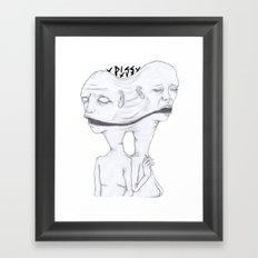 An Observers Guide to Relationships Framed Art Print