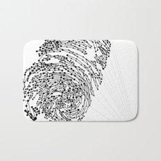 the Fingerprint Bath Mat