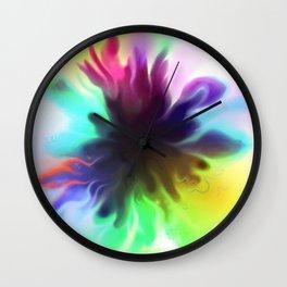 splatty Wall Clock