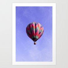 Fair Sailing - Hot Air Balloon Art Print