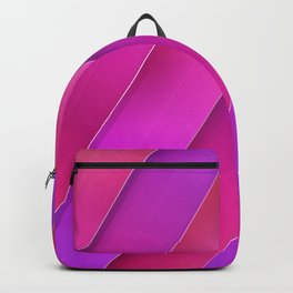 pink line Backpack
