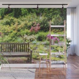 Summer Garden Wall Mural