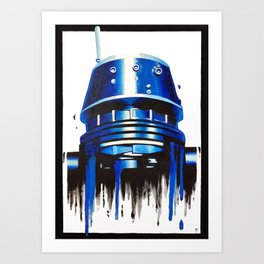 Indigo Strikes Back 3 Art Print