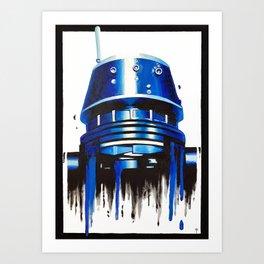Indigo Strikes Back 3 Art Print