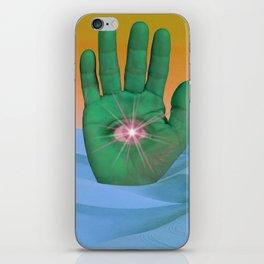 Mystical Gesture iPhone Skin