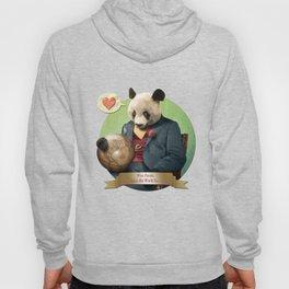 Wise Panda: Love Makes the World Go Around! Hoody