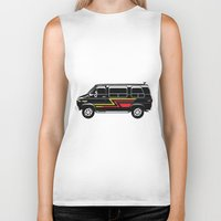 van Biker Tanks featuring Classic Van by Eyes Wide Awake