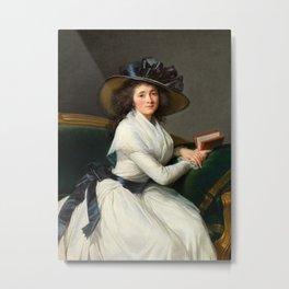 Elisabeth Louise Vigée Le Brun - Comtesse de la Châtre Metal Print