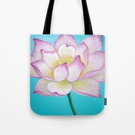 Sacred Lotus Flower Tote Bag