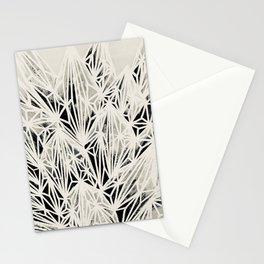 H. Fasciata Succulent Black White Print Stationery Cards