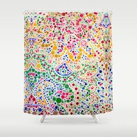 confetti Shower Curtains featuring Confetti by Love2Snap