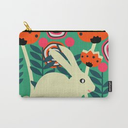Little bunny in spring Carry-All Pouch