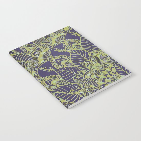 Green Garden  Notebook