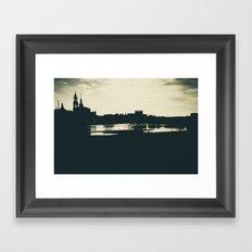 Silhouette des Dresdener Elbufers