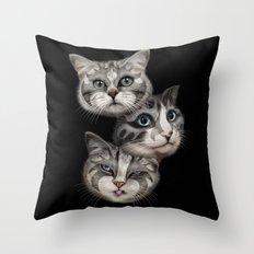 THE TRIO Throw Pillow