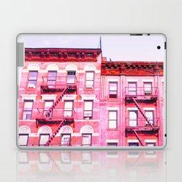 New York City Pink Buildings Laptop & iPad Skin