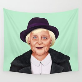 Hipstory -  Angela Merkel Wall Tapestry