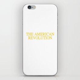 Ancestor Fought American Revolution US History iPhone Skin