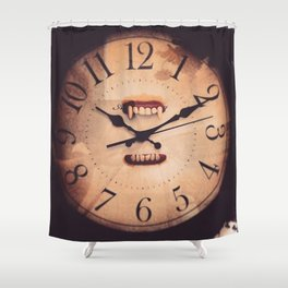 Time Consumer Shower Curtain