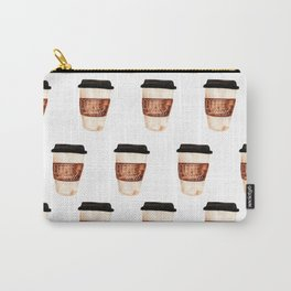 Coffee and Hustle on the Go Carry-All Pouch