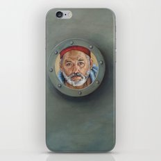 Bill Murray / Steve Zissou / Wes Anderson  iPhone & iPod Skin