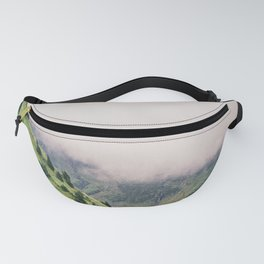 Mountain just took a shower Fanny Pack