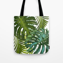 Palm and Monstra Tote Bag