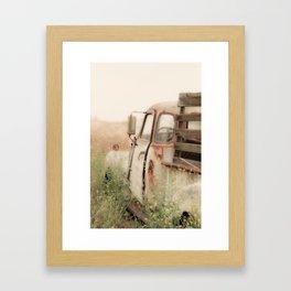 Good Morning maynard Framed Art Print