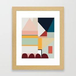 modern abstract II Framed Art Print
