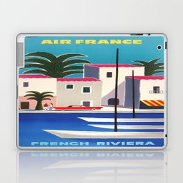 Vintage poster - French Riviera Laptop & iPad Skin