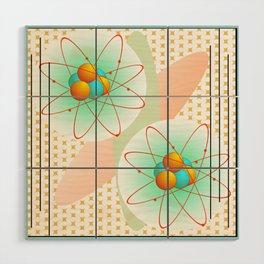 Mid-Century Modern Art Atomic 1.0 Wood Wall Art